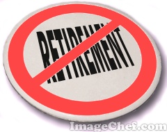 No retirement button